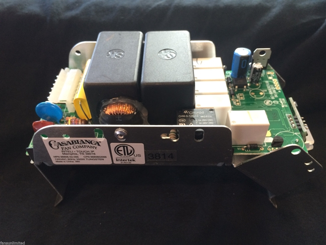 Casablanca Fan 8880602000 Std It3 Circuit Board Intelitouch 3 Fb