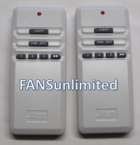Hunter Fan Uc7848t Value Pack Of 2 Genuine Remote